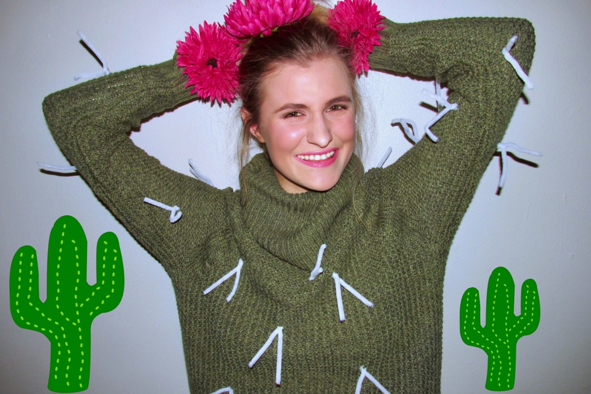 #CountdownToHalloween: DIY Cactus Plant Costume