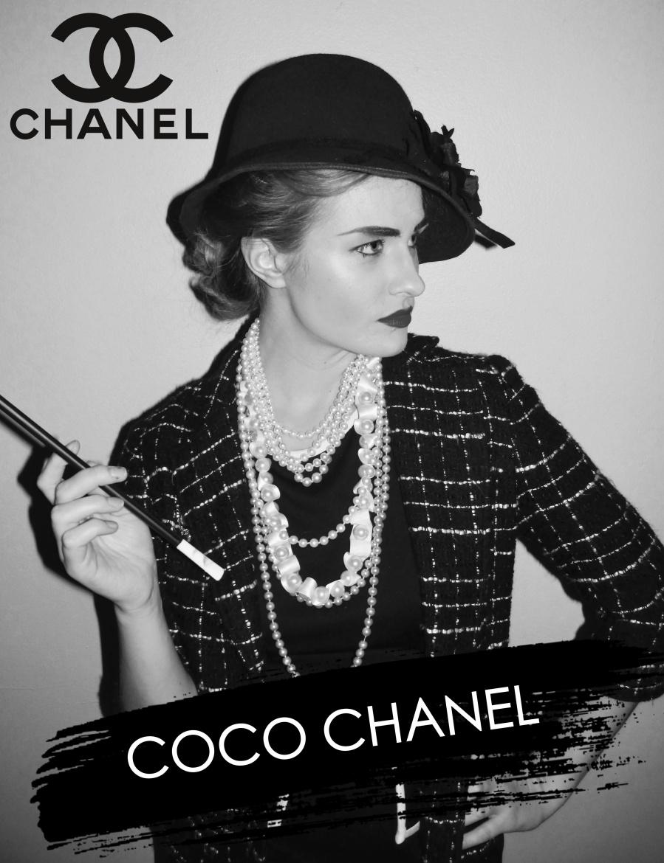 Countdowntohalloween Diy Coco Chanel Costume Between