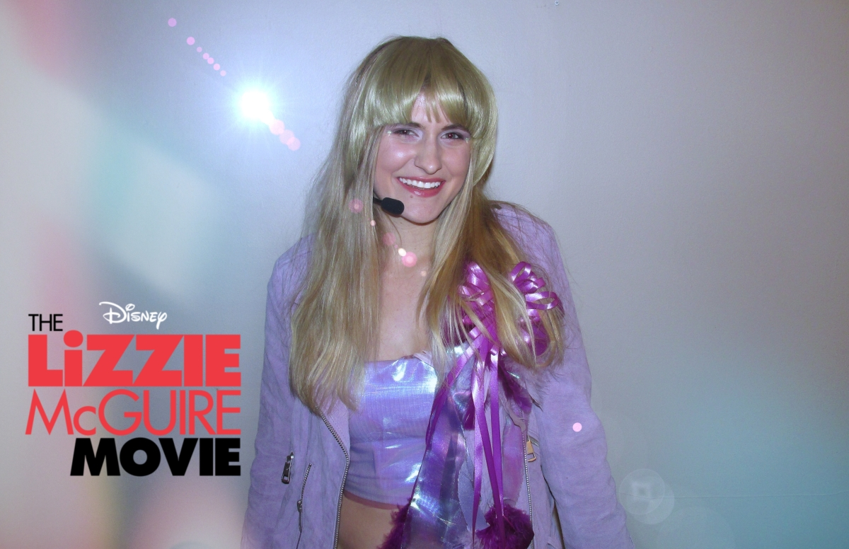 DIY Lizzie McGuire Movie Costume